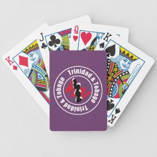 Trinidad & Tobago Logo Design Bicycle Playing Cards