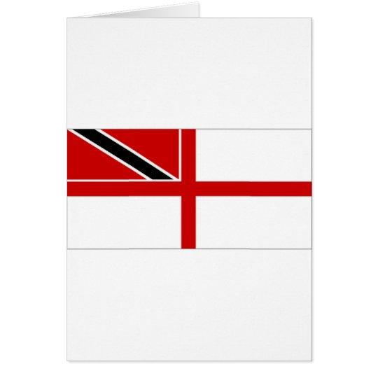 Trinidad Tobago Naval Ensign Card