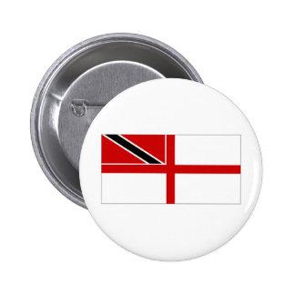 Trinidad Tobago Naval Ensign Pinback Button