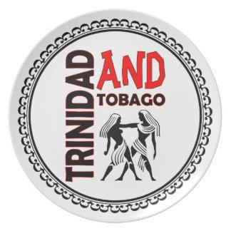 Trinidad & Tobago People Plates