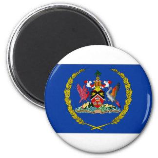 Trinidad Tobago President Flag 2 Inch Round Magnet