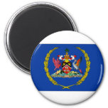 Trinidad Tobago President Flag Magnets