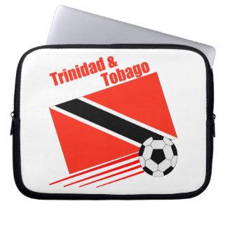 Trinidad & Tobago Soccer Team Computer Sleeve