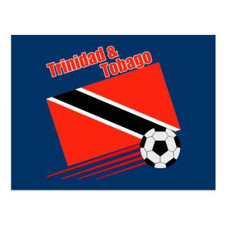 Trinidad & Tobago Soccer Team Postcard