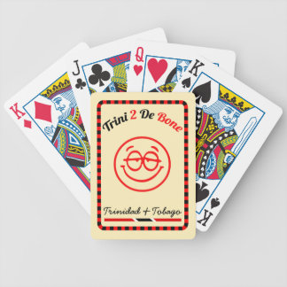 Trinidad & Tobago Trini To The Bone Bicycle Playing Cards