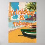 Trinidad & Tobago Vintage vacation Poster