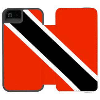 Trinidad & Tobago Wallet Case For iPhone SE/5/5s