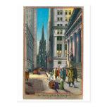 Trinidad vieja y Wall Street, Nueva York Postales