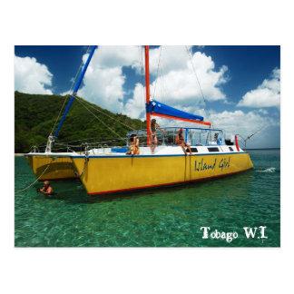 Trinidad y Tobago W.I. Tarjeta Postal