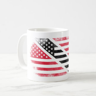 Trinidadian American Flag   Trinidad and Tobago Coffee Mug