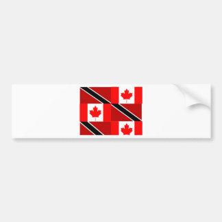 Trinidadian-Canadian Bumper Sticker