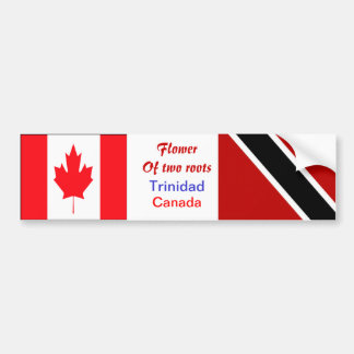 Trinidadian-canadian bumper stickers