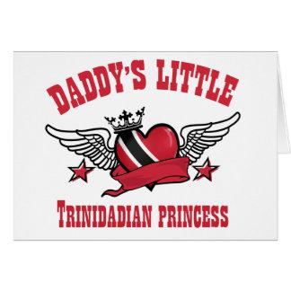 trinidadian princess designs card
