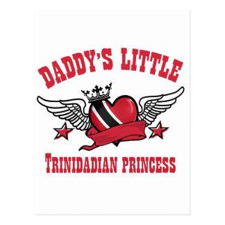 trinidadian princess designs postcard