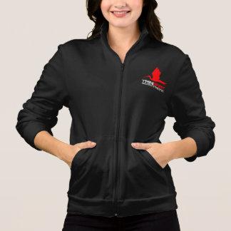TRINISPIRIT® Womens American Apparel Zip Jogger Jacket