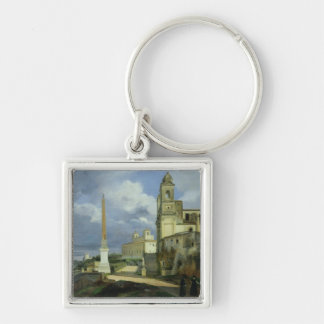 Trinita dei Monti and the Villa Medici Keychain