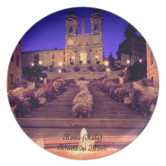 Trinità Dei Monti (Rome) Plate plate