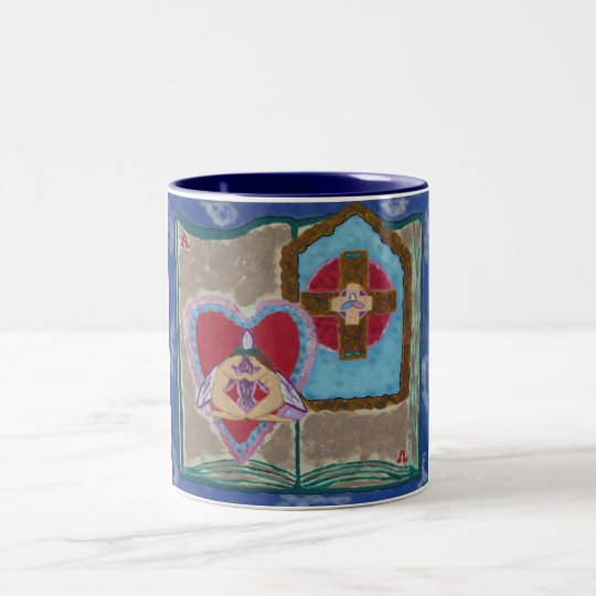 Trinitarian Marriage Abstract mug
