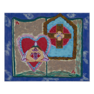 Trinitarian Marriage Abstract poster