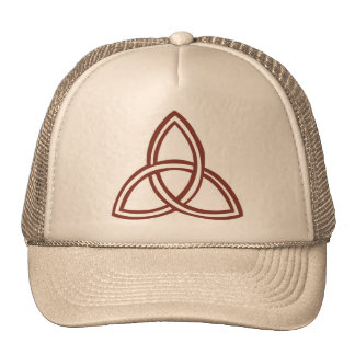 Trinité marron trucker hats