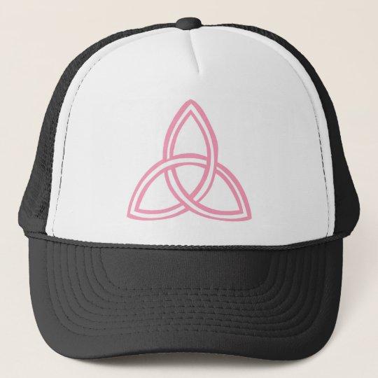 Trinité rose trucker hat
