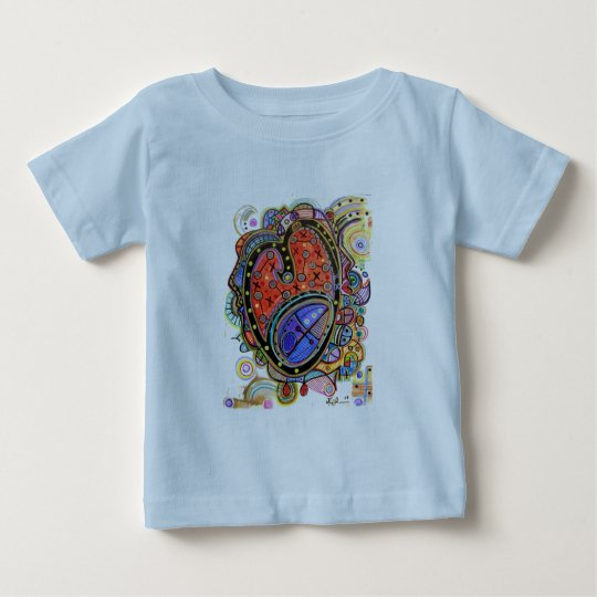 Trinity - Abstract Heart Baby T-Shirt