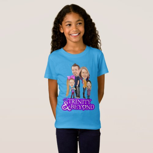 Trinity and Beyond Kids T_Shirt