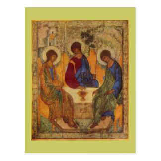 Trinity Angels At Mamre Postcard