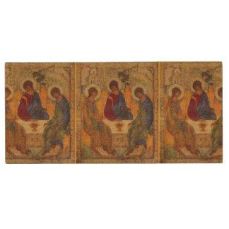Trinity Angels At Mamre Wood USB Flash Drive