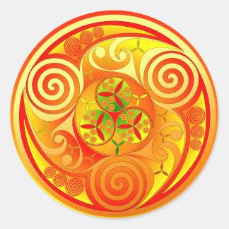 Trinity Bui Round Sticker
