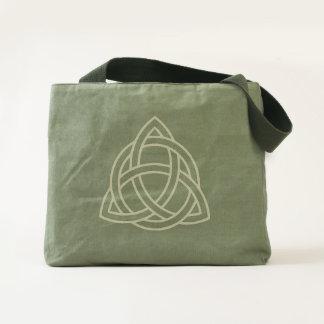 Trinity Celtic Knot Canvas Tote