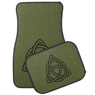 Trinity Celtic Knot Car Mat Set