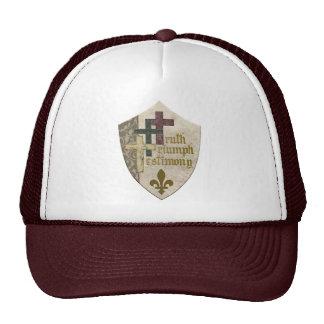 Trinity  Christian Shield Cap Trucker Hat