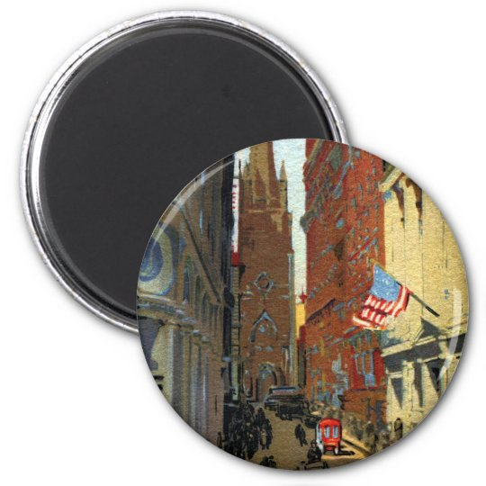 Trinity Church and Wall Street Magnet