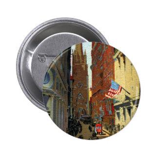 Trinity Church and Wall Street Pins