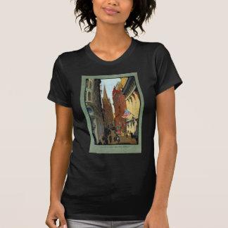 Trinity Church and Wall Street T Shirt