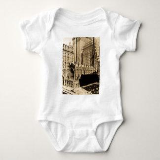 Trinity Church & Church Yard Lower Manhattan NYC Baby Bodysuit