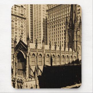 Trinity Church & Church Yard Lower Manhattan NYC Mouse Pad
