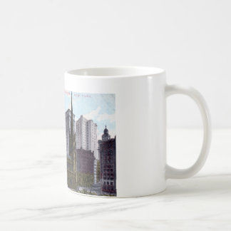 Trinity Church, New York City 1912 Vintage Classic White Coffee Mug