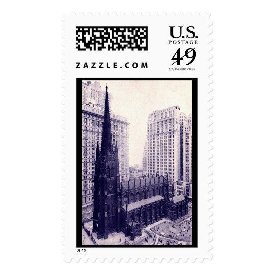 Trinity Church, New York City Vintage Postage