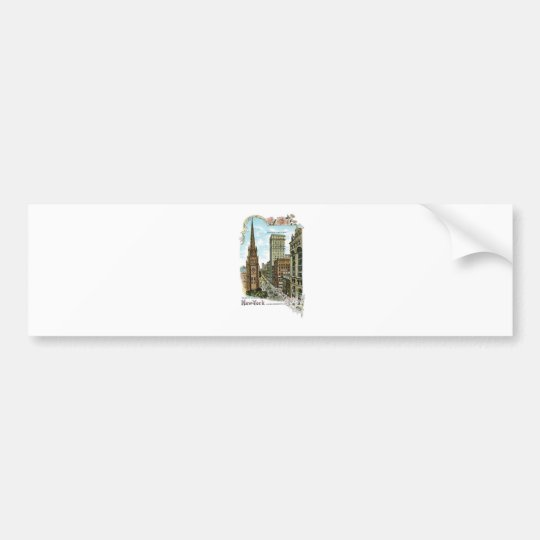 Trinity Church. New-York, Lower Broadway Bumper Sticker