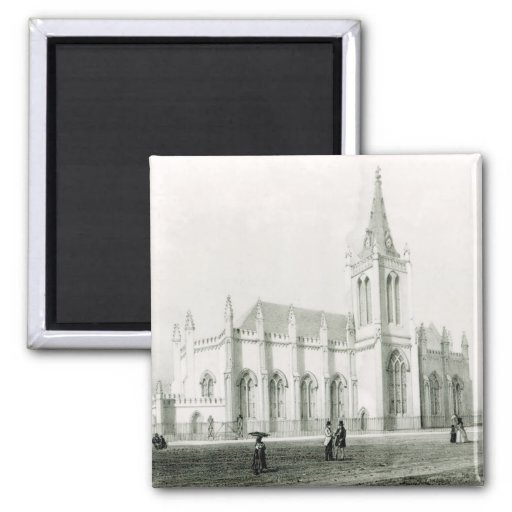 Trinity church, Port of Spain 2 Inch Square Magnet