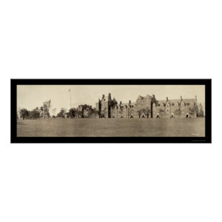 Trinity College CT Photo 1909 Poster