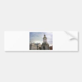 Trinity College Dublin Car Bumper Sticker