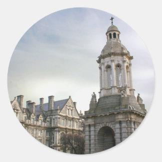 Trinity College Dublin Classic Round Sticker