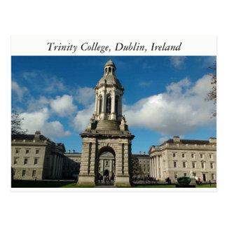Trinity College Dublin , Ireland Postcard