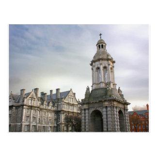 Trinity College Dublin Post Card