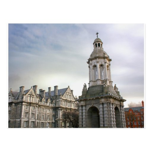 Trinity College Dublin Postcard