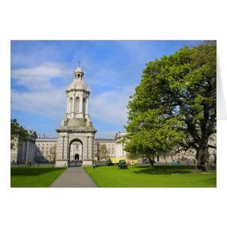 Trinity College in Dublin Card