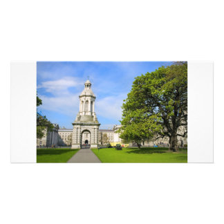 Trinity College in Dublin Customized Photo Card